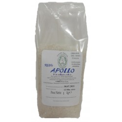 Sacchetto in atmosfera protettiva da 1 kg di Riso Apollo profumato Riso Corbetta