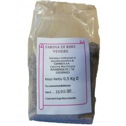 Sacchetto in atmosfera protettiva da 0,5 kg di farina di riso Venere Riso Corbetta