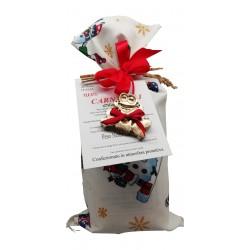 Sacchetto decorato natalizio Riso Corbetta.