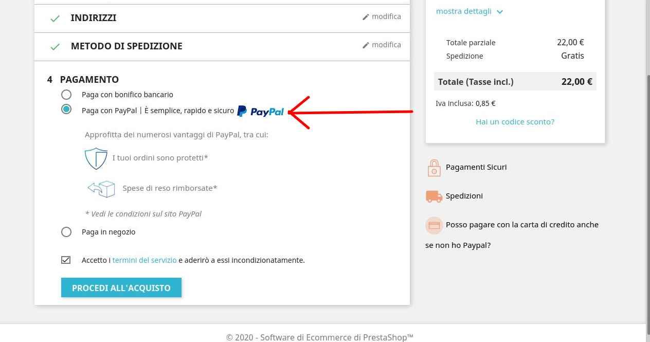 Paga con la tua carta anche senza essere registrato Paypal